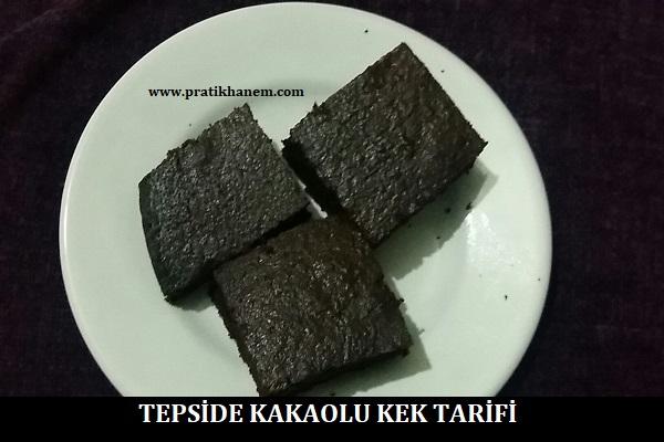 Tepside Kakaolu Kek Tarifi