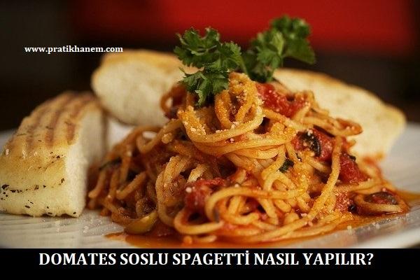 Domates Soslu Spagetti Nasıl Yapılır