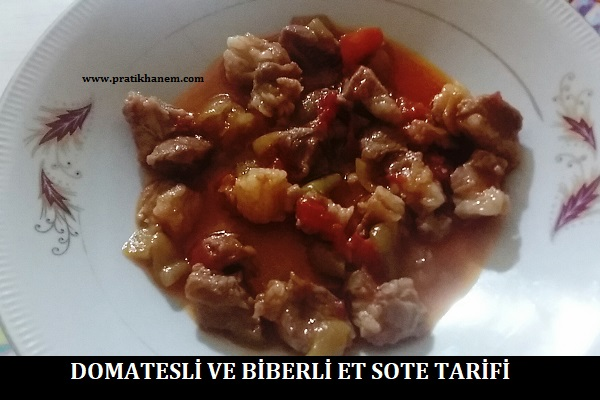 Domatesli ve Biberli Et Sote Tarifi