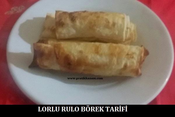 Lorlu Rulo Börek Tarifi