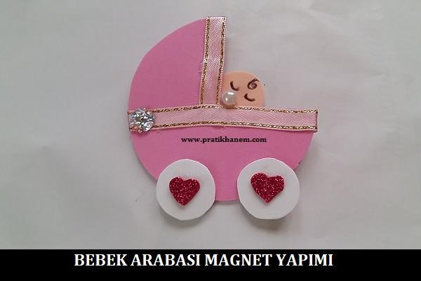 Bebek Arabası Magnet Yapımı