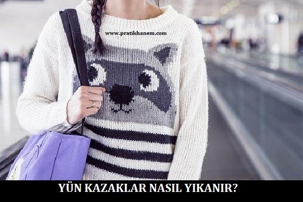 Yün Kazaklar Nasıl Yıkanır