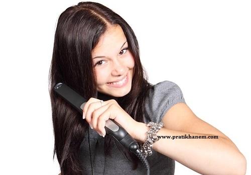 Saç Düzleştirici Kullanımı
