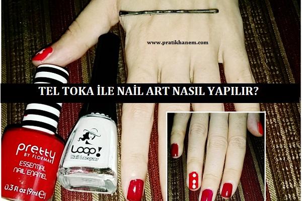 Tel Toka ile Nail Art Nasıl Yapılır