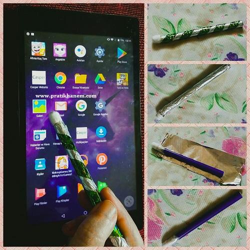 Dokunmatik Ekran Kalemi Yapımı Resimli Anlatım