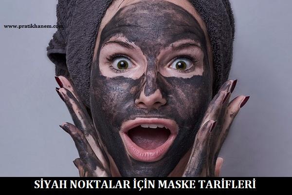 Siyah Noktalar için Maske Tarifleri