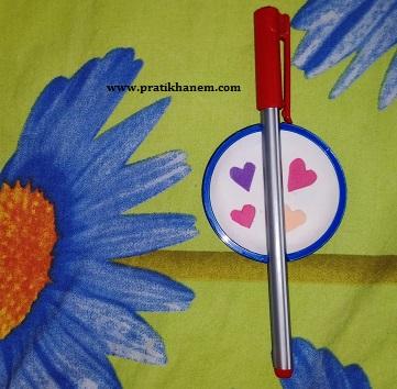 Damacana Kapağından Kalem Askısı