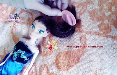 Oyuncak Bebeklerin Saçı Nasıl Düzeltilir-1