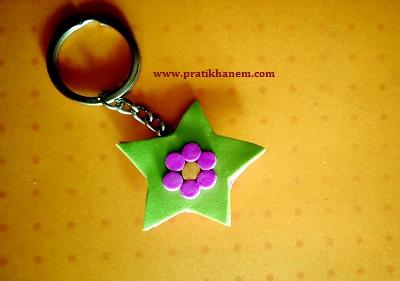 Yıldız Anahtarlık