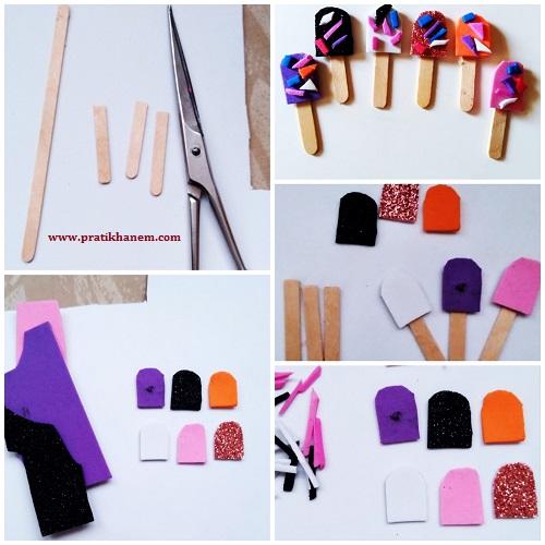 Minyatür Çubuk Dondurma Yapımı Resimli Anlatım