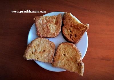 Yumurtalı Kepek Ekmek Kızartması